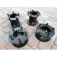 Подовжувачі колії мототрактора, комплект 4 шт, передні та задні під 5 болтів кріплення