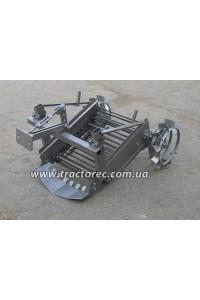 Картоплекопалка Ярило до мотоблока чи мототрактора (мини-трактора) транспортерного типу із робочим приводом від коліс копалки