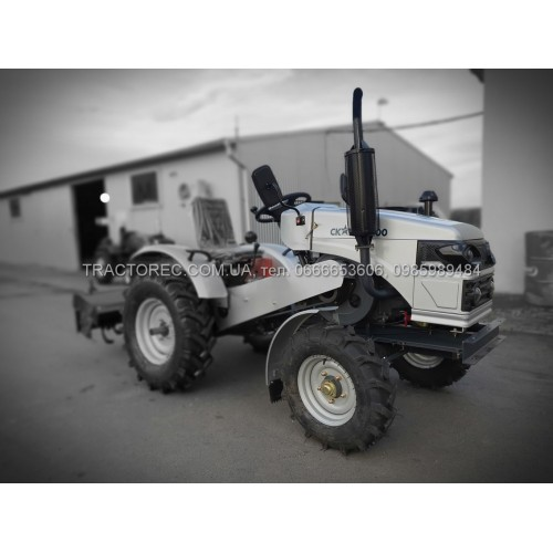 Мінітрактор СКАУТ Т-200SF, 22 л.с + тракторна фреза із карданом 125 см в комплекті, не мототрактор! Трактор Scout T-200, ВОМ, 3-х точка