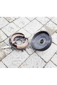 Гальмівний барабан в зборі для мототрактора, мотоблока під ось 39-40 мм