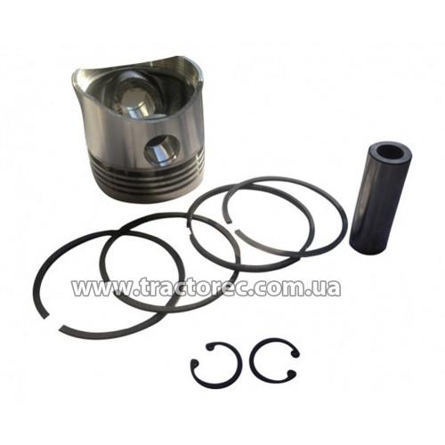 Поршневий комплект бензинового двигуна 168F (поршень, кільця, палець)