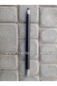 Вал нижній середні коса роторної КР-01, 380мм, шліц-шліц