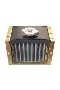 Радіатор двигуна R180 8 к.с. (7,5-9 к.с Зубр, кентавр, форте, аврора і т.д.)