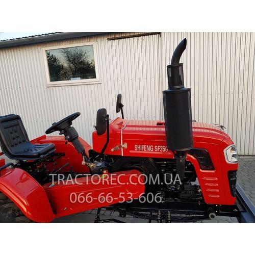 Трактор SHIFENG 350, 35 к.с, ВОМ, на мягкому ходу, підресорений, вага 1000 кг. БЕЗКОШТОВНА ДОСТАВКА
