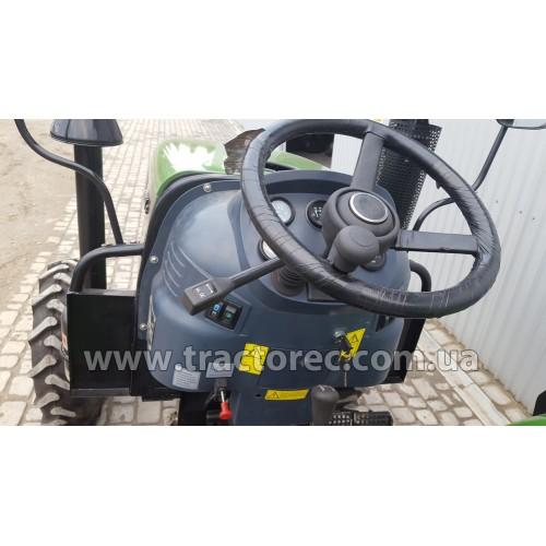 Трактор Zoomlion RD244-B, 24 к.с., 3 цил.,  РЕВЕРС, 4 гідровиходи, резина 11,2-24 (висока)
