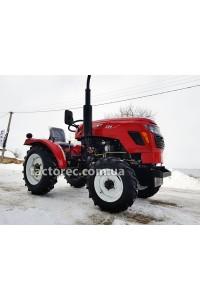 Трактор XT224H, 3 цил, 22 к.с, гідропідсилювач керма, 4х4, безкоштовна доставка!